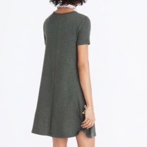 Army Green Madewell Swingy T-shirt Dress!